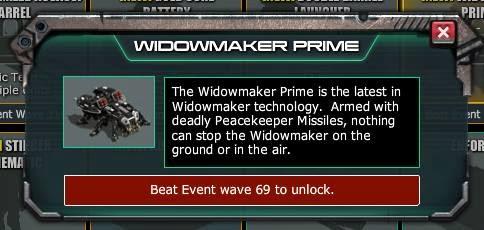 Floodgate 2 war commander prizes for mega